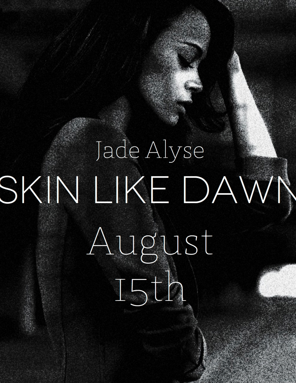 The 1st draft is almost complete! My third novel, Skin Like Dawn, is on its way!